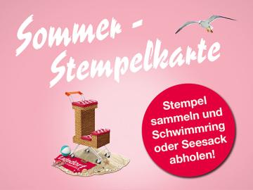 Sommer-Stempelkarte